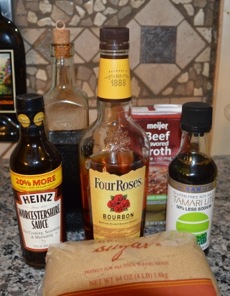 Bourbon Balsamic Sauce
